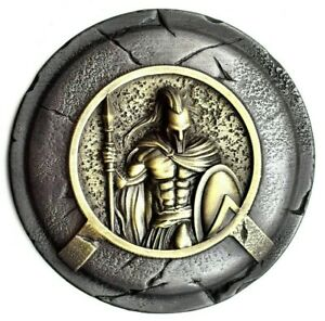 Greek shield ancient greece wall art, Spartan warrior greek mythology wall decor