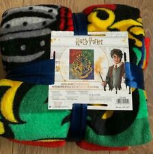 Harry Potter  Fleece Blanket New Official NEW