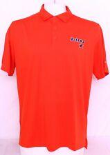 NEW Houston Astros MLB Orange Columbia Golf Omni-Wick Drive Polo Shirt Men's XL