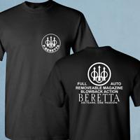 BERETTA ASSAULT RIFLE 2nd AMENDMENT BRAND PRO GUN AR-15 Black T Shirt