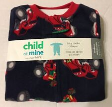 Child Of Mine Baby Blanket Sleeper Pajamas Sz Newborn