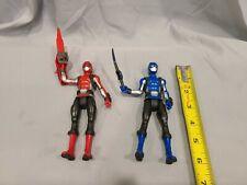 Power Rangers Beast Morphers Red & Blue Ranger 6-inch Action Figure Toys
