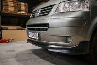 For VW T5 Transporter Multivan Caravelle 03-09 Front Bumper lip Spoiler / Skirt