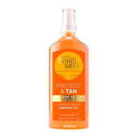 Bondi Sands PROTECT & TAN OIL SPF 15 - Contains Self Tanning Ingredients - New
