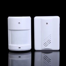 Wireless Infrared Monitor Sensor Motion Detector Entry Door Bell Alarm Chime