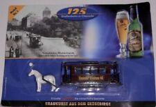 Bier- & Spirituosen Minitrucks für Sammler mit dem Thema Straßenbahn