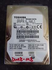 Toshiba 500GB SATA 2.5 Laptop Hard Disk Drive HDD MK5061GSYN (434)