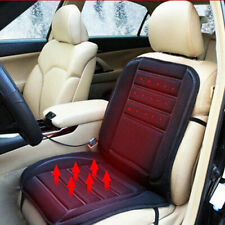 Winter 12V Car Heated Leather Cushion Electric Heating Pad Car Seat Cover Warmer