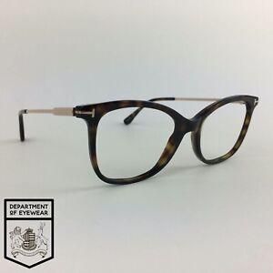 TOM FORD eyeglasses TORTOISE CATS EYE glasses frame MOD: TF5510 052