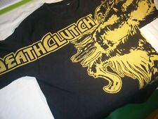 Death Clutch T shirt   yellow and black
