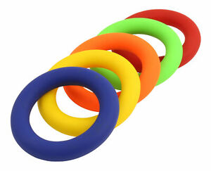 Wurfring aus Kunststoff - Tennisring - Ringwurf - Schwimmfähig - 180 g - 16 cm