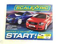 Scalextric C1203 Pista Elettrica Start Audi TT Red&Blue 1/32