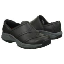 NEW Merrell Jovilee Lattice Slides Casual Slip On Shoes, Black Leather, Size 7