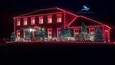 120 Feet- Set of 4 RED Rice Ladi Decoration Lighting for Diwali