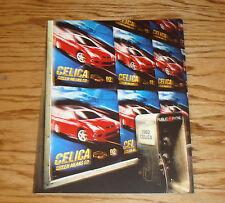 Original 2002 Toyota Celica Foldout Sales Brochure 02