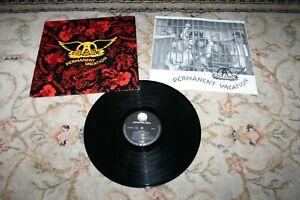 AEROSMITH PERMANENT VACATION 1989 EU VINYL LP