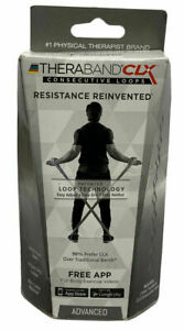 TheraBand CLX Resistance Band CONSECUTIVE Loops, Advanced, free app