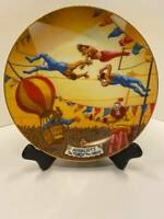 Ringling Brothers and Barnum & Bailey Circus Plate -  The Aerialists