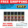VHT / Duplicolor Paint VHT Roll Bar and Chassis * Satin Black * 6-Pack * SP671