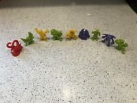 Monster in My Pocket - Lot of 9 Figures - Mixed - Neon - Standard Colors