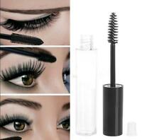 5x 10mL Empty Mascara Tube Eyelash Cream Vial/Container Black Cap/Liquid Bottle