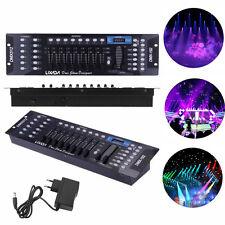 DMX512 Controller 192CH für LED Stage Laser Light Lichtsteuerungen Disco Party L