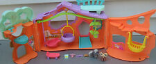 LITTLEST PET SHOP LPS CLUBHOUSE TREE HOUSE PLAYSET COMPLETE