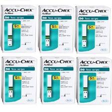 ACCU CHEK Active Test Strips 300 Sheet Health Care Beauty Diabetes_rmga