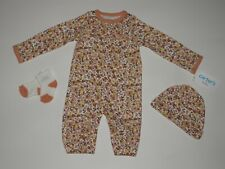 NWT, Baby girl clothes, Newborn, Carter's Convertor Gown Take Me Home Set