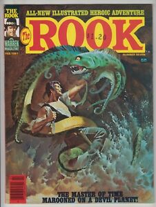 The Rook #7, ALFREDO ALCALA, Warren 1981 FINE