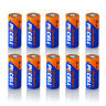 10x 1.5V E90 N LR1 MN9100 910A Size N Alkaline Battery for Security Devices