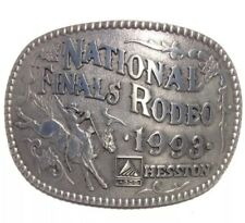 1993 Hesston National Finals Rodeo Belt Buckle Limited Edition AGCO B3-O