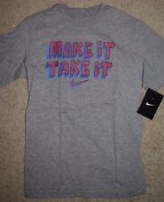 New Boy's Nike  Gray T-shirt size Small