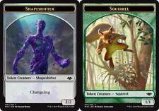 10x Shapeshifter Token // Squirrel Token NM-Mint, English Modern Horizons MTG Ma
