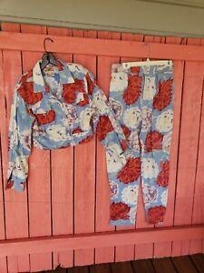VTG Gene Ewing BIS SZ 10 California Sunwash Wrinkled Rich Denim USA Made jacket