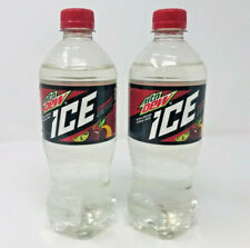 2 Pack Mountain Dew Ice Cherry Bottle Soda Discontinued Rare BB 9/19 20oz