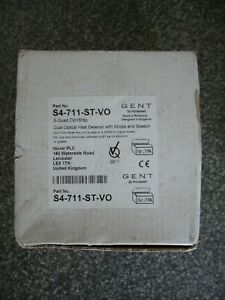 Novar Gent S-Quad S4-711-ST-VO Optical Heat Detector with Strobe and Speech