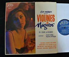 LATIN LP De Cesar Gonzmart Puchito 574 Ojos Negroes Con Los Violines Magicos