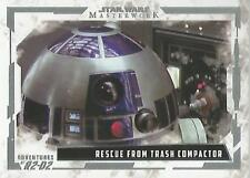 Star Wars Masterwork 2017 - AR-6 Adventures of R2-D2 Chase Card