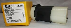 HUBBELL HBL2613 Connector Body Insulgrip Twist-Lock 30A 125V 2P 3 FILS L5-30R