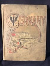 """Antique 1891 """"Germany Illustrated with Pen and Pencil"""" (1891)"""