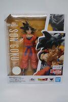 S.H. Figuarts Dragonball Z  Son Goku A Saiyan Raised on Earth Action Figure