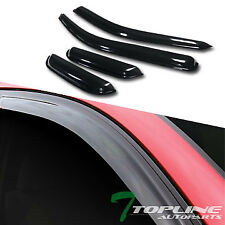 Topline For 2004-2012 Colorado/Canyon Extended Cab Rain Guard Vent Window Visors