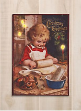NEW LIGHTED HOLIDAY COOKIE CANVAS WALL ART