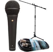 Rode M1 + Keepdrum Mikrofon-Kabel + Keepdrum Mikrofonständer