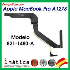 CABLE FLEX SATA PARA APPLE MACBOOK PRO A1278 821-1480-A CONECTOR HDD DISCO DURO