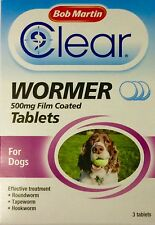 BOB MARTIN TRANSPARENT VERMIFUGE comprimés pour grand chien
