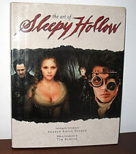 SIGNED Tim Burton The Art of Sleepy Hollow Movie Andrew Kevin Walker Fantasy HC