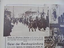 1931 ...Bildbeilage  4  / München / Bob / Berlin Grüne Woche / Warnemünde