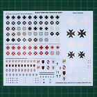 Black Templars Transfer Sheet Abziehbilderbogen Warhammer 40.000 40K #13780